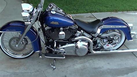 Crazy Harley Davidson Flstn Softail Deluxe