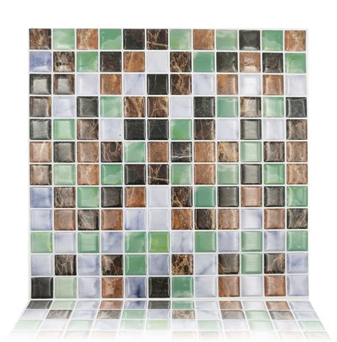 peel and stick kitchen wall tiles peel and stick kitchen backsplash tile 10 quot x10 quot adhesive 9078