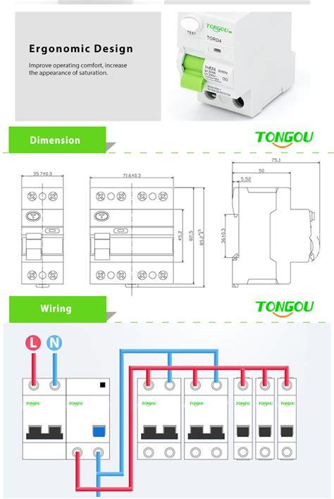 Residual Current Device Circuit Breaker