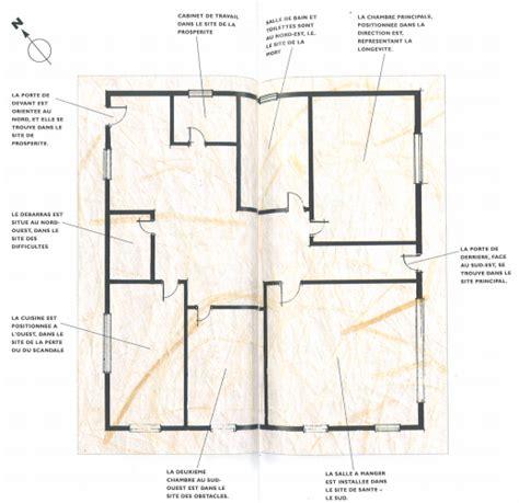 plan chambre feng shui plan feng shui maison plan habill maison