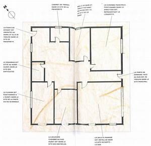 Feng Shui Maison : plan feng shui maison comment dfinir les zones de sa maison et raliser son bagua with plan feng ~ Preciouscoupons.com Idées de Décoration