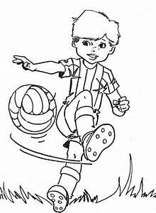 Jeux De Footballeurs : coloriages enfants ~ Medecine-chirurgie-esthetiques.com Avis de Voitures