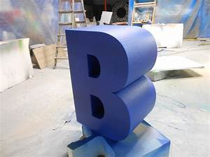 oversized letters for events marketing trade shows from With giant foam letters