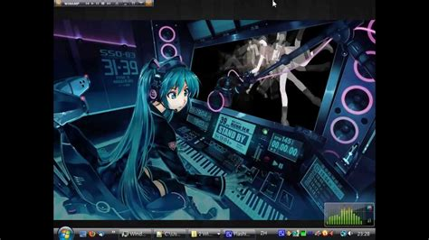 Moving Anime Wallpaper For Pc - animated desktop hatsune miku s station