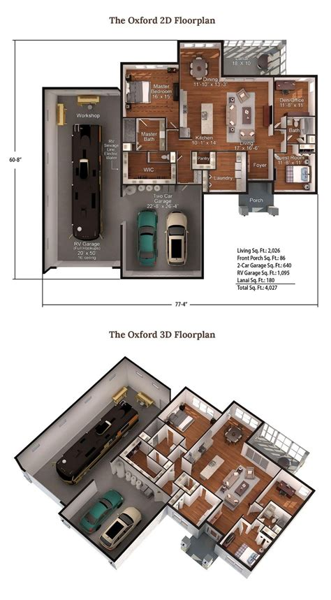Each type will have the advantage and disadvantage. Garage house plans image by Brian Fredette on RV Living ...