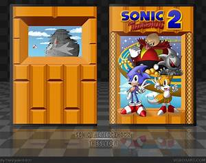 Sonic The Hedgehog 2 Genesis Box Art Cover By Theslyder