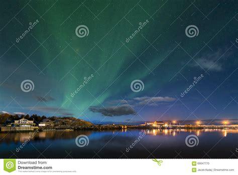norway march northern lights aurora borealis northern lights stock photo image 69047770