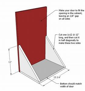 Tilt Out Trash Can Plans PDF Woodworking