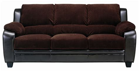 2 pc chocolate corduroy sofa set true contemporary at wholesale furniture brokers