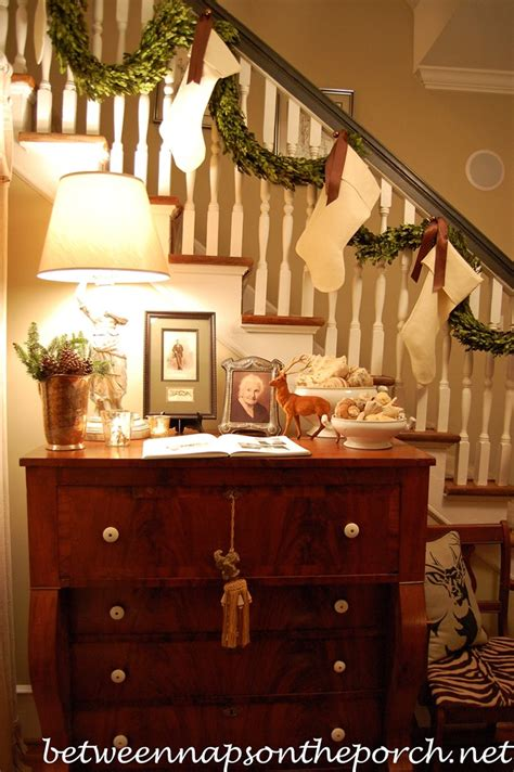 Banister Decorations For Christmas by 12 Beautiful Christmas Banisters