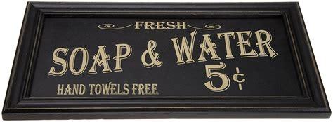 retro bathroom wall decor framed pictures ohio wholesale vintage bath advertising