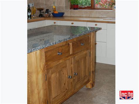 handcrafted rustic solid wooden kitchen islands  incite