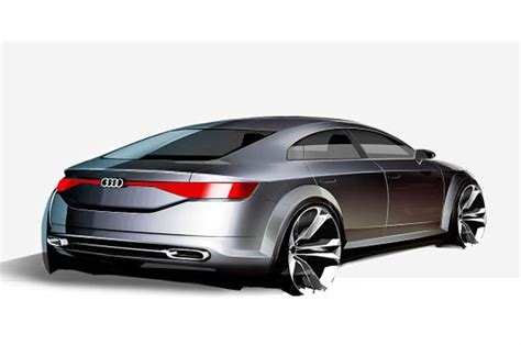 Audi Tt Sportback Concept Sketch Emerges Ahead Of Alleged
