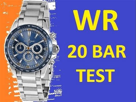 water resistant 10 bar and 20 bar jacques lemans watches 1