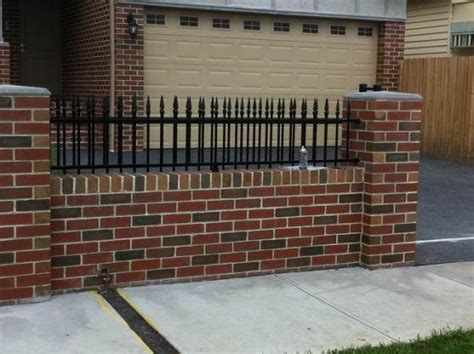 brick fence ideas brick fencing design ideas get inspired by photos of brick fencing from australian designers