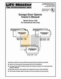 Craftsman Garage Door Opener Manual 1 2 Hp Pdf