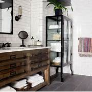 Antique Bathroom Vanity Luxury Bathroom Decoration Vintage Cabinet Is Transformed Into A Bathroom Vanity That Brings A