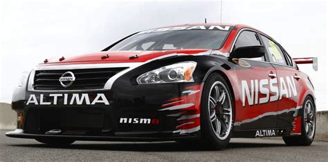 nissan altima v8 supercar to shake the streets of sydney
