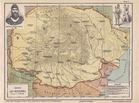 dacia vechi harti teritoriale dacizare mihai eminescu