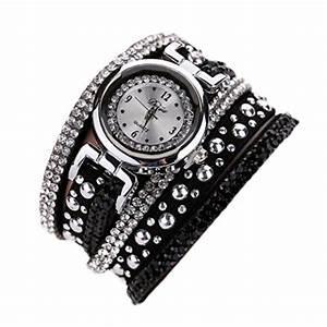 Vintage Uhren Damen : uhren von ouneed in schwarz f r damen ~ Watch28wear.com Haus und Dekorationen