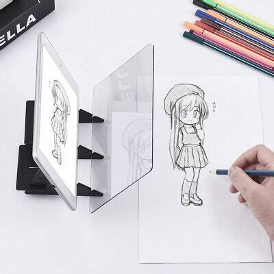 optical tracing board copy pad panel anime craft painting