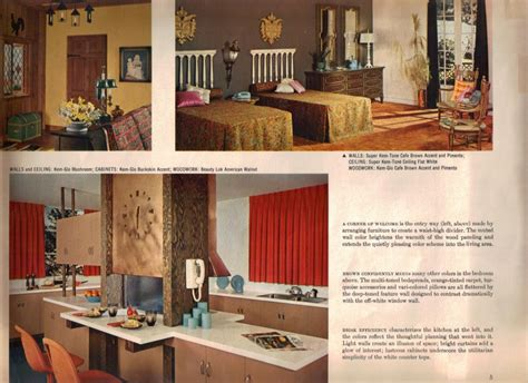 richelieu kitchen accessories 17 groovy home interiors from 1965 retro renovation 1965