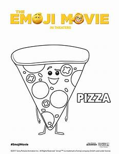 Printable Emoji Movie Coloring Pages #TheEmojiMovie #