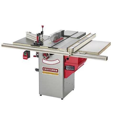 table saws ridgid   craftsman professional