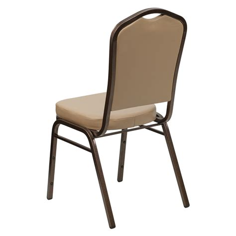 Stackable Banquet Chairs Used by Hercules Series Crown Back Stacking Banquet Chair In