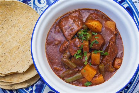 hispanic kitchen recipes mole amarillo de res beef mole hispanic kitchen
