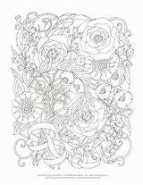 Coloring Curling Printable Colouring Adult Vines Cynthia sketch template