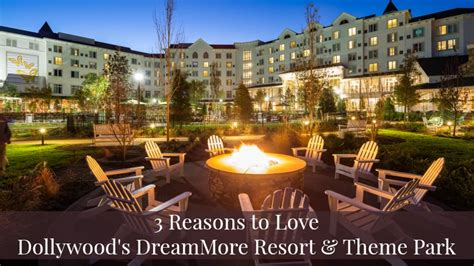 3 reasons to the new dollywood resort and theme park