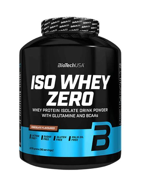Iso Whey Zero by BIOTECH USA (2270 grams)