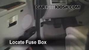 Interior Fuse Box Location  2005
