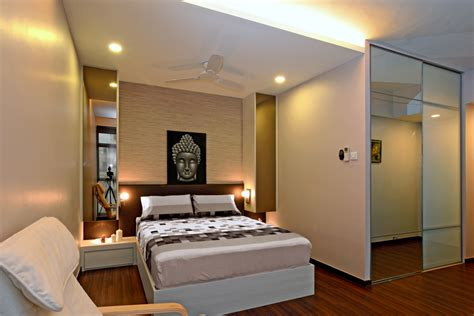 Cozy Modern Home In Singapore Developed For An Indian