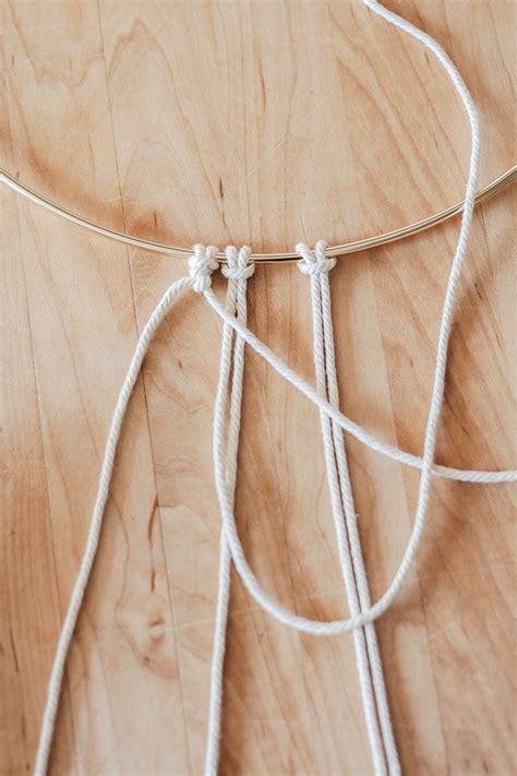 basic macrame knots step  step guide decor hint