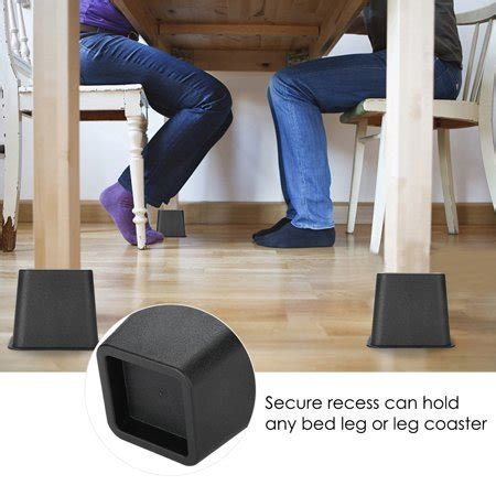Sofa Risers Walmart by Yosoo 4pcs Bed Risers Chair Sofa Riser Wide Lift