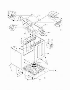 Kenmore Model 41797812701 Laundry Centers  Combos Genuine Parts