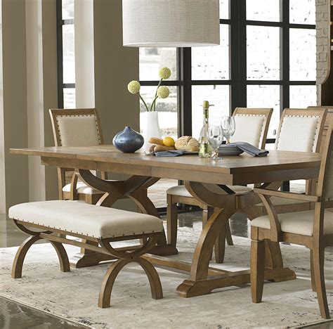 Rustic Dining Tables With Benches Home Decor