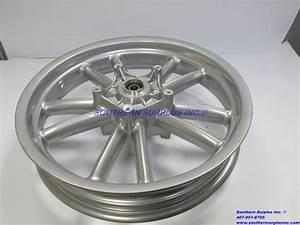 Piaggio 597290t0b1 Front Wheel Rim  U0026 Bearing 56371r00b1 W   Wheel Studs Beverly
