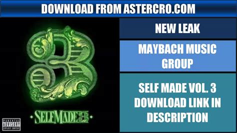 Maybach Music Group: Self Made Vol.3 Full Album Download