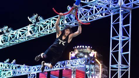 stage ninja warrior american finals vegas mathis nbc