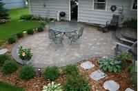 trending backyard brick patio design ideas 24+ Paver Patio Designs | Garden Designs | Design Trends ...