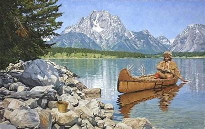 Mountain Paintings Barry Eisenach Native American Western