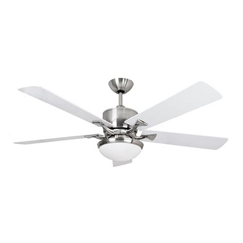 52 inch white ceiling fan fantasia delta 52 inch remote control brushed nickel low