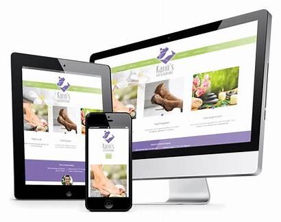 Pedicure Websites Website Maken Orangeline Responsive