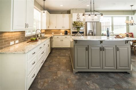 Elegant Windsor Kitchen Before And After  Irwin Construction