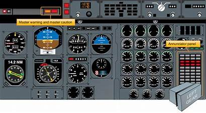 Aircraft Systems Warnings Panel Instrument Lights System