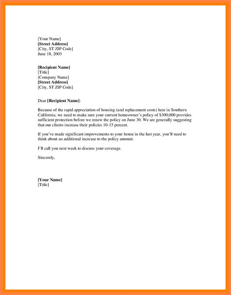 insurance letter template 10 insurance renewal notice sle notice letter