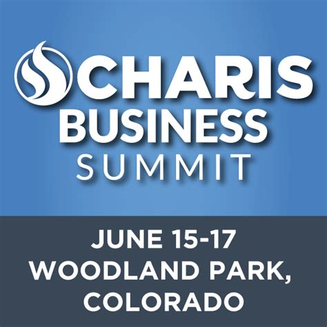 charis business summit charis bible college